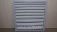 Решетка радиаторная ПВХ 600х600мм Серая