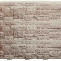 """Фасадная панель Доломит """"Скалистый Риф Люкс"""" Коралл (2000х220мм)"""
