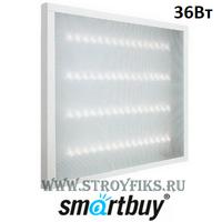 Светильник светодиодный Армстронг Smartbuy SBL-uni-36W-65K универсальный 595х595х19мм Призма 36вт 6500К Холодный свет с Эпра