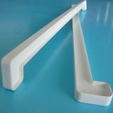 Соединитель пластиковый ПВХ к подоконнику двухсторонний Белый. Длина 60см (600мм)