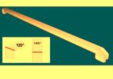 Соединитель ПВХ на стык 120° и 180° Цветной-10цветов 60см (600мм) к подоконнику Danke