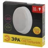 Светильник светодиодный накладной круглый Эра SPB-3-10-4K Круг матовый IP20 D210х40мм 10Вт 800Лм 4000К Белый свет
