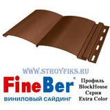 Блок хаус (BlockHouse) FineBer Светлый Дуб 3,66х0,232м