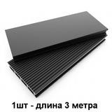 Террасная доска из ДПК (Декинг) Dimdeck (3х0,14м) Вельвет черный