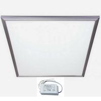 Панель светодиодная Армстронг 595х595х10мм ультратонкая 36вт Опал 4000К Белый свет с источником питания (Эпра, LED-драйвер)