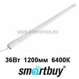 Светильник светодиодный промышленный IP65 36Вт 6400К Холодный свет 1200х60х30мм TP500s матовый Smartbuy-36W/6400K/IP65 (SBL-TP500s-36W-64K)