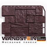 Фасадная панель Holzplast Wandstein Туф Темно-коричневый (795х595мм)