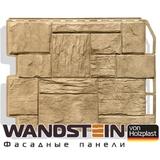 Фасадная панель Holzplast Wandstein Туф золотой песок (795х595мм)