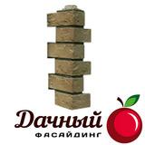 Угол наружный Фасайдинг Дачный (Fineber) Русская крепость, Бежевый