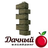 Угол наружный Фасайдинг Дачный (Fineber) Русская крепость, Дымчатый