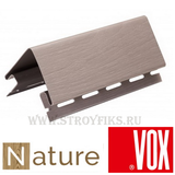 Наружный угол Vox Nature Дуб Серый (длина-3,05м)