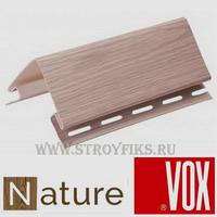 Наружный угол Vox Nature Дуб Натуральный (длина-3,05м)