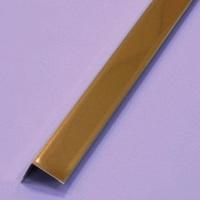 Угол 19х24 мм Албес Золото, длина 3 метра