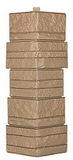 Угол цокольный т-сайдинг альпийская скала (сказка) бежевая 1011 техоснастка