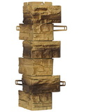 Угол наружный фасадной панели Royal Stone Скалистый камень Эдмонтон арт. 315