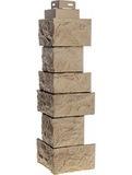 Угол наружный FineBer Камень дикий Терракотовый