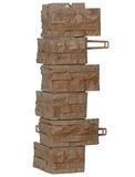 Угол наружный фасадной панели Royal Stone Скалистый камень Вистлер арт. 316