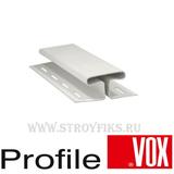 Н-профиль Vox (Вокс) Айдахо Белый (длина-3,05м)