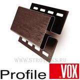 Н-профиль Vox (Вокс) Айдахо Коричневый (длина-3,05м)