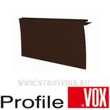 J-фаска 250мм Vox (Вокс) Айдахо Коричневая (длина-3,05м)