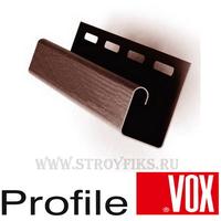 J-профиль Vox (Вокс) Айдахо Коричневый (длина-3,05м)