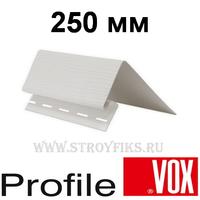 Околооконная планка 250мм широкая Vox (Вокс) Айдахо Белая (длина-3,05м)