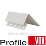 Околооконная планка 115 мм узкая Vox (Вокс) Айдахо Белая (длина-3,05м)