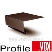 Околооконная планка 115 мм узкая Vox (Вокс) Айдахо Коричневая (длина-3,05м)