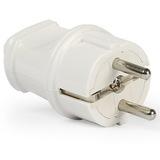 Вилка электрическая штепсельная Smartbuy 16А с заземлением (SBE-10-P04-w)