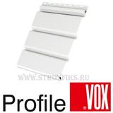 Софит Vox (Вокс) Айдахо Белый без перфорации (Размер:3х0,3м)
