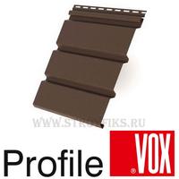 Софит Vox (Вокс) Айдахо Коричневый без перфорации (Размер:3х0,3м)