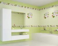 Панель ПВХ Unique 2,7х0,25м Яблоневый цвет зеленый