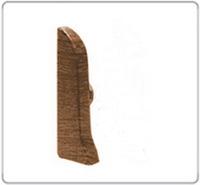 Заглушка левая 67мм Идеал Элит под цвет плинтуса (42цвета)