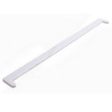 Заглушка пластиковая ПВХ к подоконнику двухсторонняя Белая. Длина 60см (600мм)