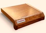 Подоконник ПВХ Danke Standard Золотой Дуб Матовый. Ширина 15см (150мм)