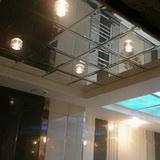 Зеркальный потолок с фацетом серебро 600х600мм