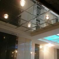 Потолок из зеркал с Фацетом Серебро 600х600мм