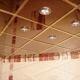 Зеркальный потолок бронза 300х300мм
