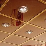 Зеркальный потолок бронза 600х600мм